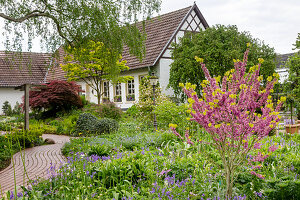 Half-timbered house (district teaching garden, Steinfurt, Germany)