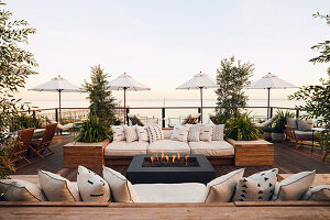 Heart of Malibu, Boutique beachfront hotel, California