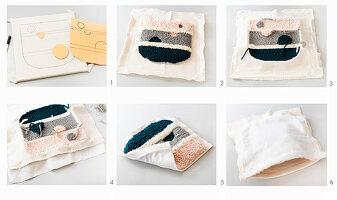 Anleitung für Handtasche in Punch Needle Technik