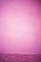 Pink outside wall (full picture)