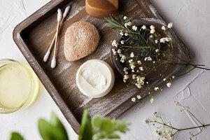 Natural handmade face cream