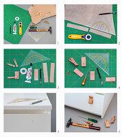 Möbelgriff aus Leder herstellen