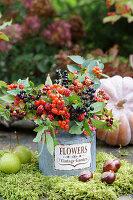 Bouquet of various berries