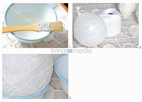 Introduction to making things yourself - making a lantern from cotton thread