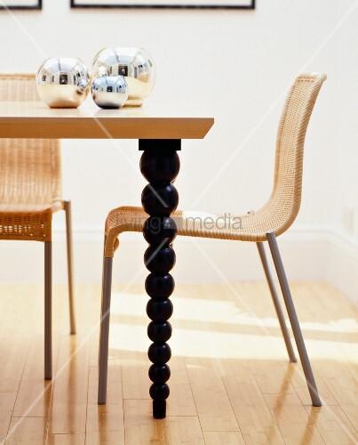 korbst hle f r esstisch nabcd. Black Bedroom Furniture Sets. Home Design Ideas