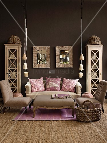 Amazing Living Room In Natural Shades With Dark Buy Image Interior Design Ideas Gentotryabchikinfo