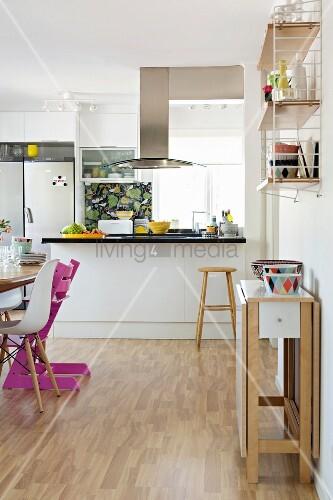 Kuche Tisch An Wand Küchen Studio