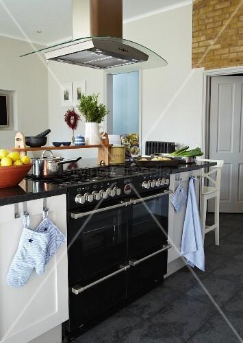 Ausgezeichnet Kücheninsel Mit Gasherd Zeitgenössisch - Kicthen ...