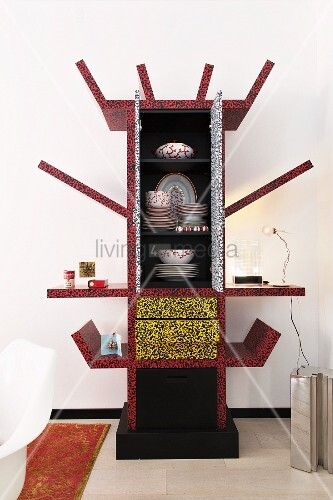 Surrealist Casablanca cabinet by Ettore Sottsass