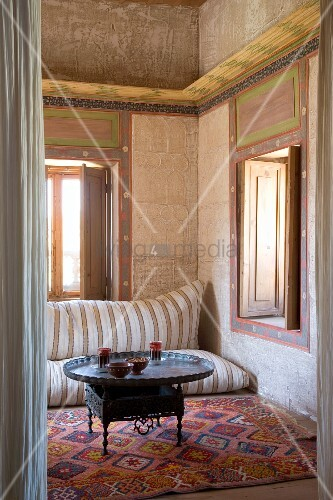 Besondere wandgestaltung und bild kaufen 11009088 for Bodenkissen orientalisch