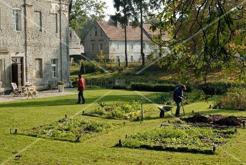 Preparing the garden for winter