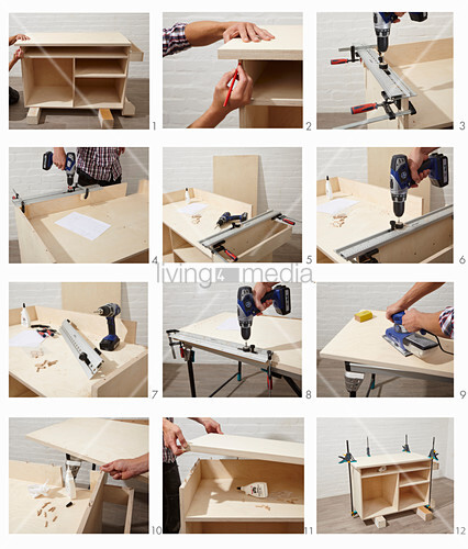 Instructions for building a workshop trolley (part 3)