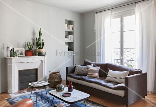 Vor Fenster Rattan Sofa BlogWohnzimmer 9IWDbeEYH2
