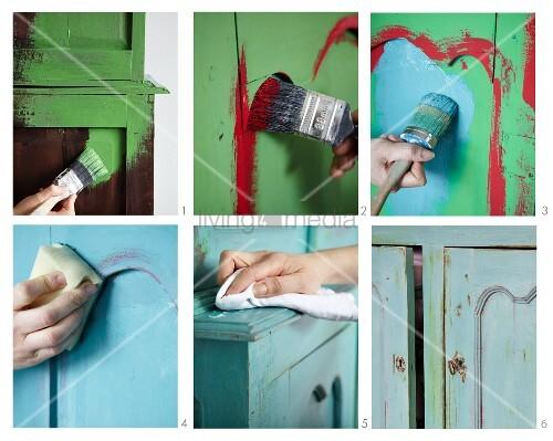Refurbishing a dresser