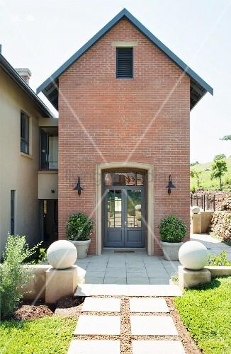 Two-storey brick house