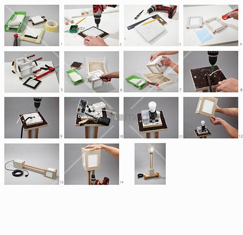 Anleitung für eine selbstgebaute Gartenlampe