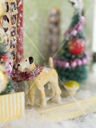 Verschiedene Weihnachtsdeko