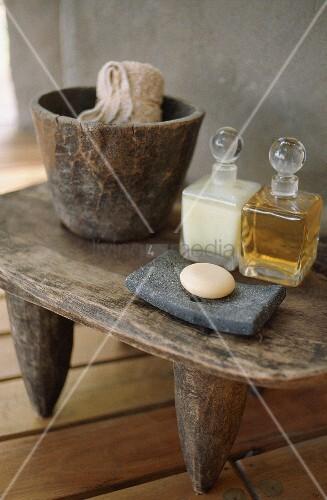 Soap and bath oils