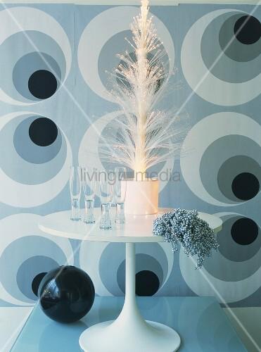 Fiberglas weihnachtsbaum bild kaufen 00346894 living4media - Weihnachtsbaum fiberglas ...