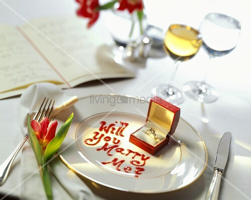 Marriage Proposal Setting