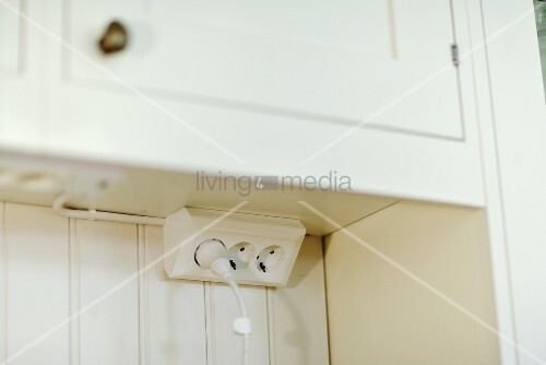 Electrical Outlet Under A Kitchen Image 00705104
